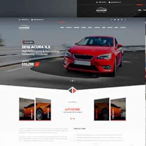 autozone car dealer wordpress theme 01
