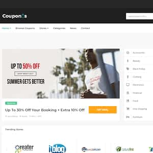 coupons and deals wordpress theme 01