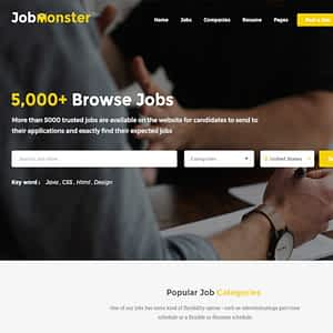 jobmonster job board wordpress theme 01