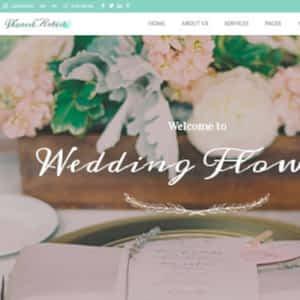 wedding industry wordpress theme 01