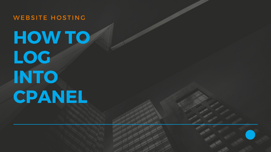 How to Log Into cPanel raw