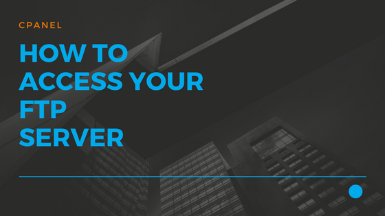 09 How to access your FTP server