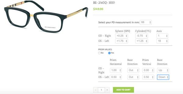 woocommerce eyeglass prescription plugin 02