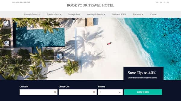 book your travel online booking wordpress theme 03