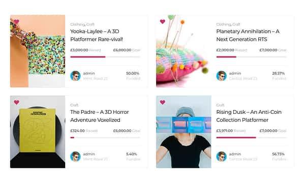 Patrios Wordpress Crowdfunding Theme 13