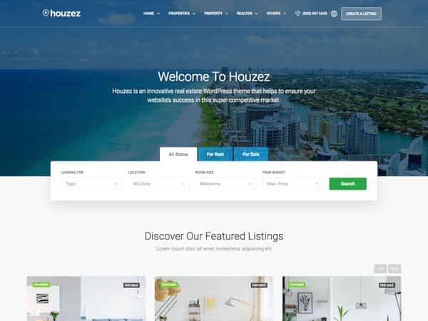 Houzez Real Estate Theme 05