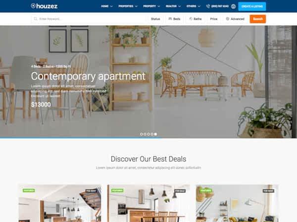 Houzez Real Estate Theme 06