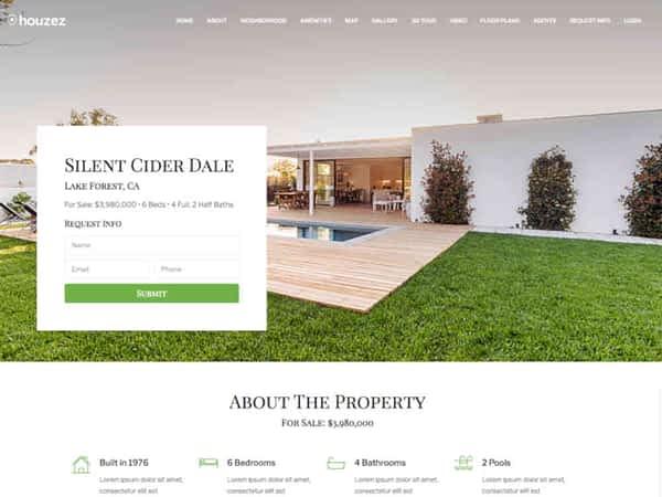 Houzez Real Estate Theme 12