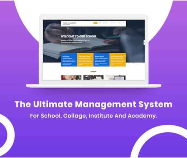 Weblizar School Management System 03