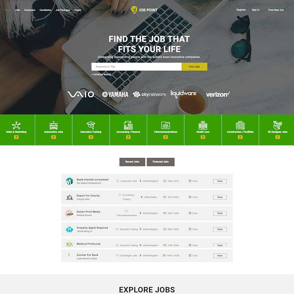 careerfy - job board wordpress theme 02