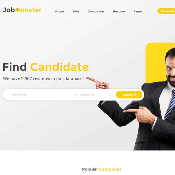 jobmonster job board wordpress theme 02