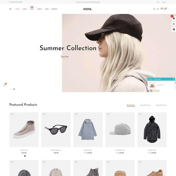 nova prestashop 1.7.6.x theme for fashion business 04