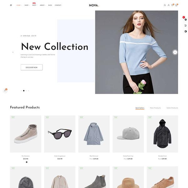 nova prestashop 1.7.6.x theme for fashion business 02
