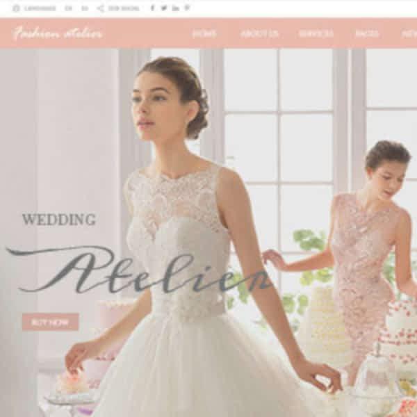 wedding industry wordpress theme 04