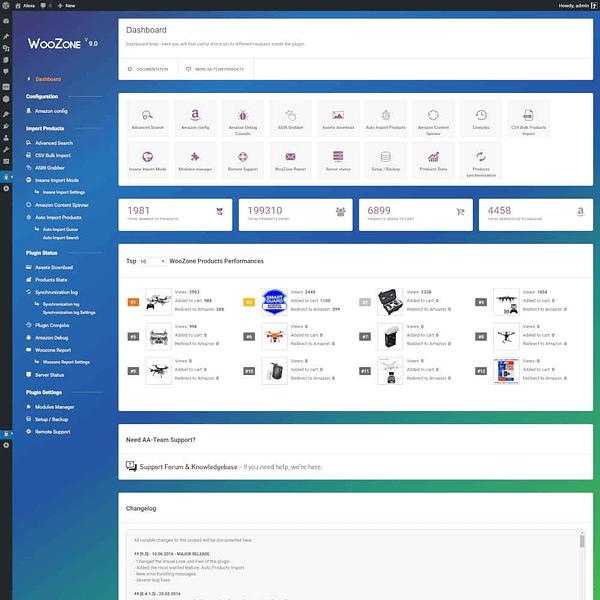 Woozone Woocommerce Amazon Affiliate Plugin 01