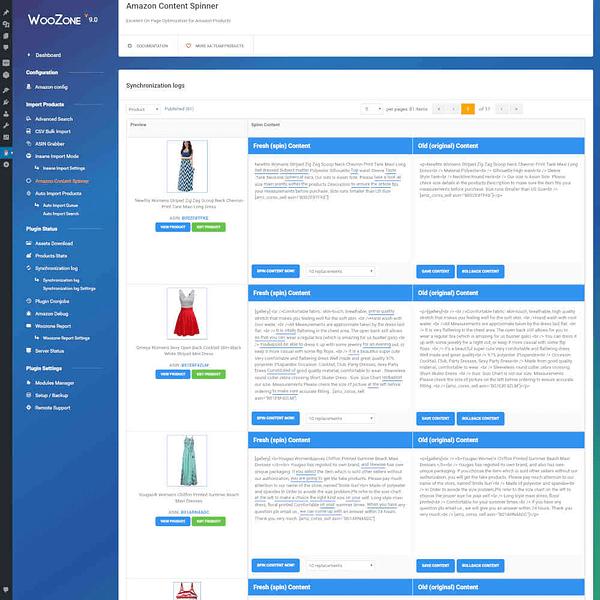 Woozone Woocommerce Amazon Affiliate Plugin 06