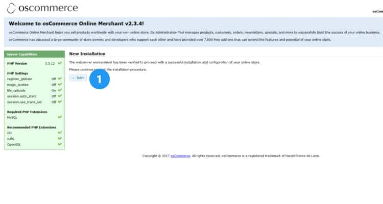 how to install oscommerce 01