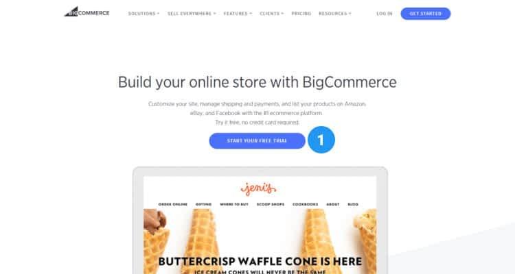 How to start Bigcommerce online store 01