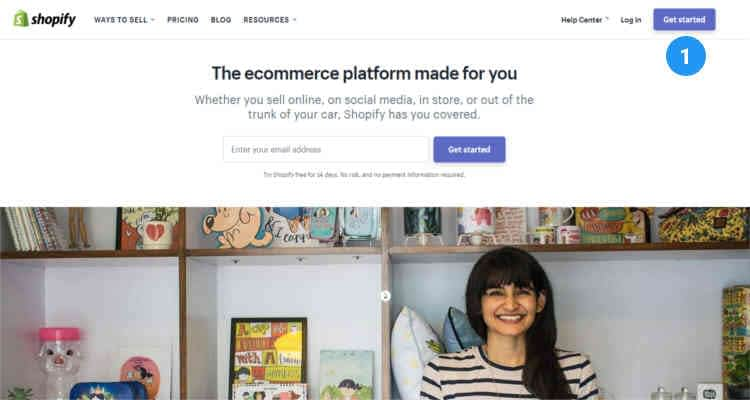How to start a Shopify store 01