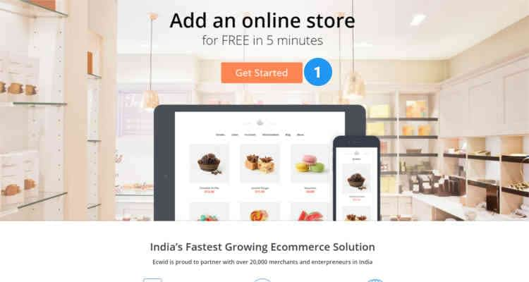 How to start an Ecwid online store 01