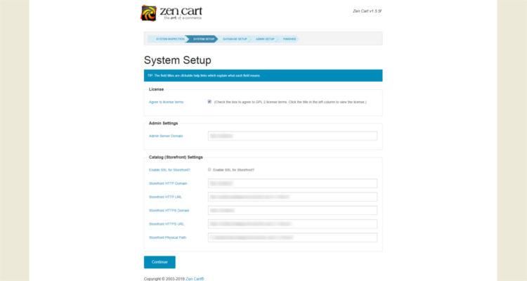 how to install zen cart 03