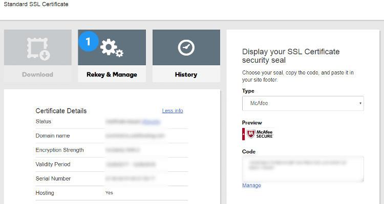 rekey ssl certificate 03