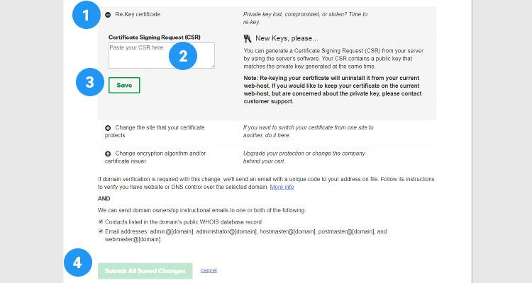 rekey ssl certificate 04
