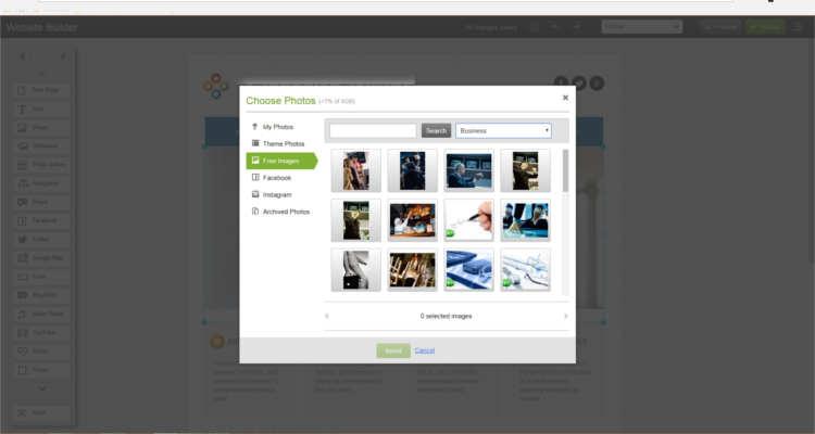 07 build website using website builder