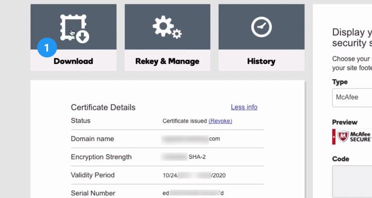 08 Download SSL Certificate