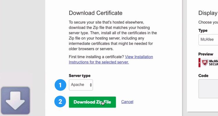 09 Download SSL Certificate
