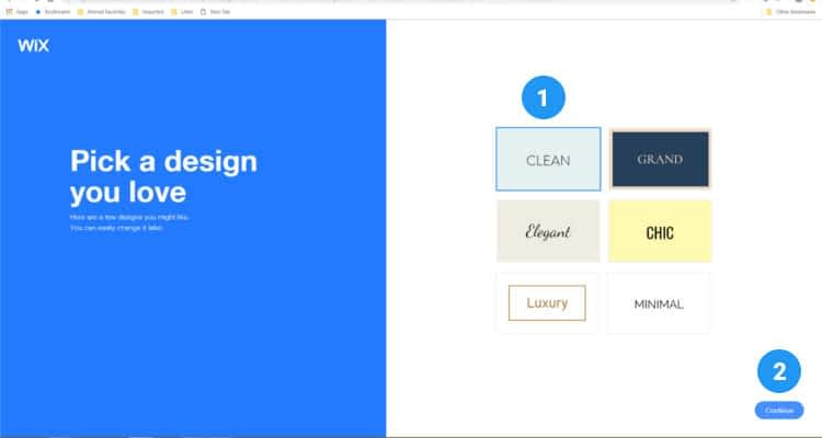 Wix Store themes  07