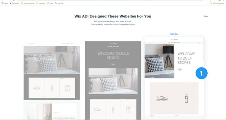 Wix Store themes  08