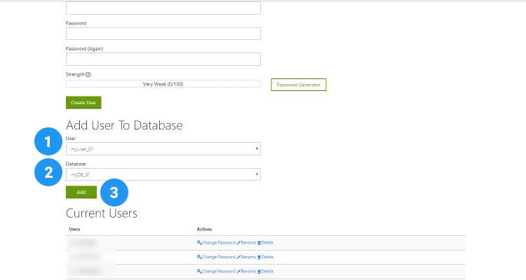 06 MySQL database, User and assign privileges