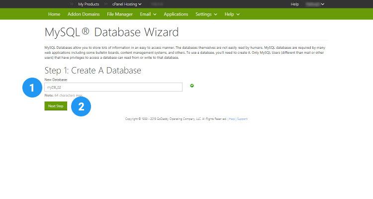 09 MySQL database, User and assign privileges