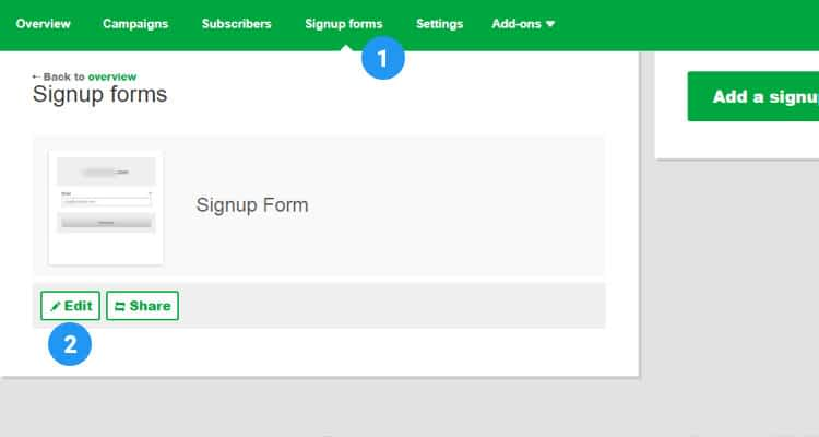 Create s Newsletter Signup Form 04