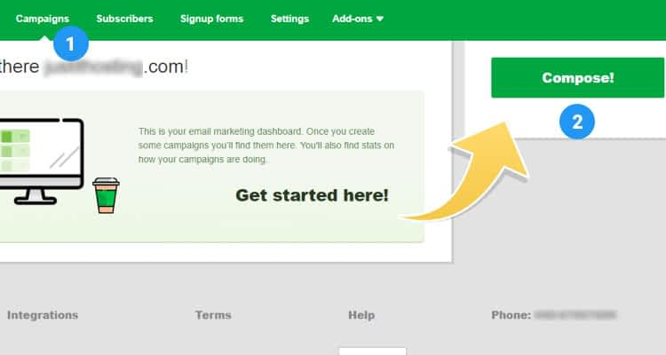 Email Marketing – How to Create an eMail Campaign 02