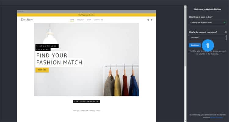 How to start your own Online Store - First Time Setup 03