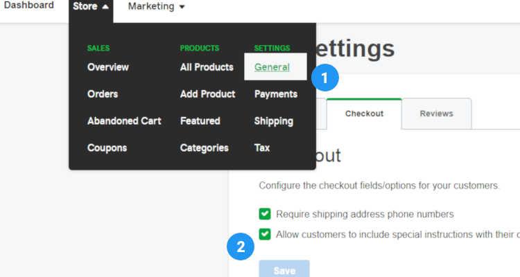 online checkout process 01