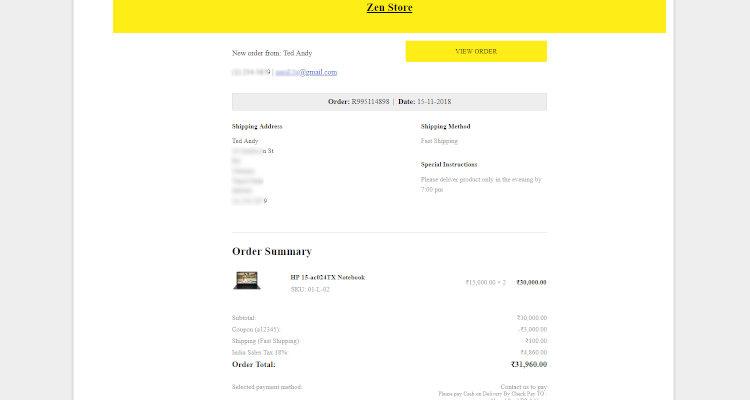 online order processing 02