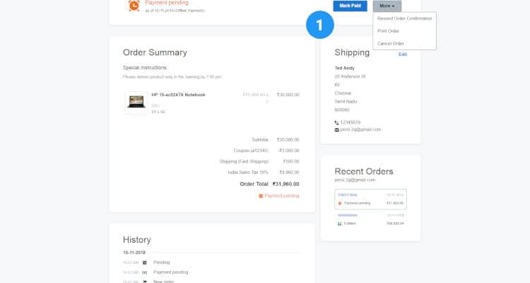 online order processing 04
