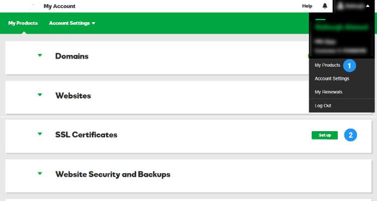 01 ssl certificate - Managed WordPress