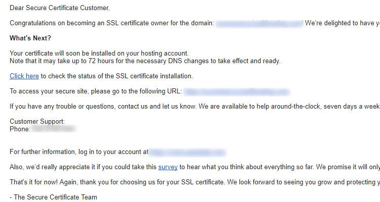 03 ssl certificate - Managed WordPress
