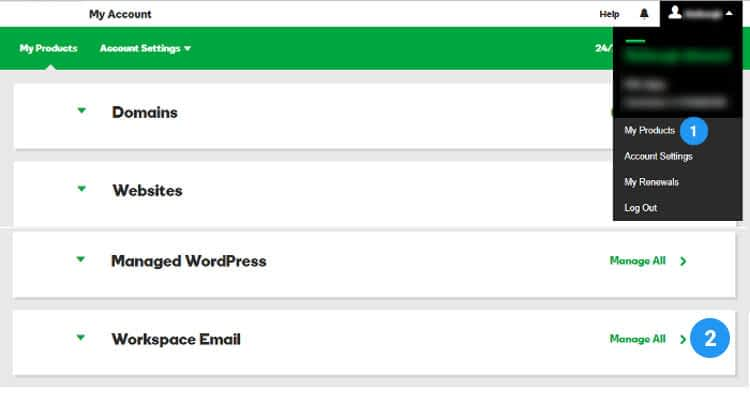 01 create business email address