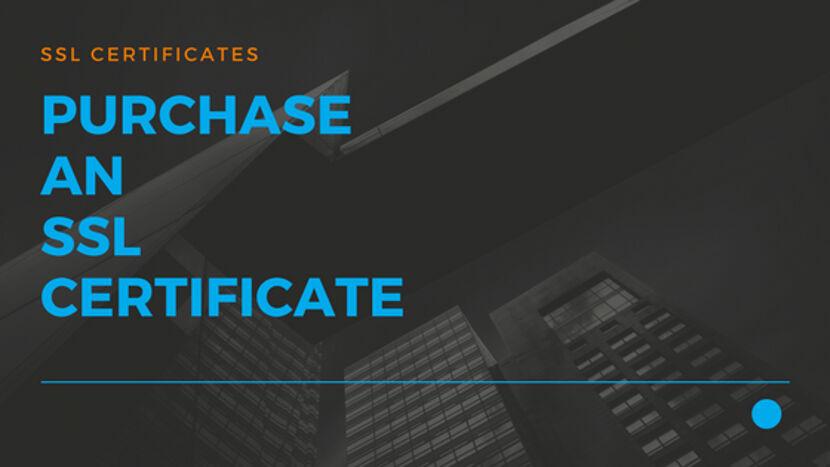 13 Purchase an SSL Certificate