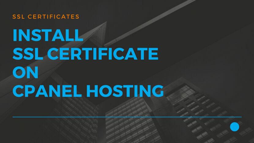 15 Install SSL Certificate on cPanel Hosting