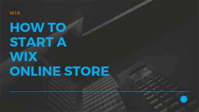 How to start a Wix online store