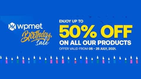 Wpmet - Birthday Celebration - ElementsKit